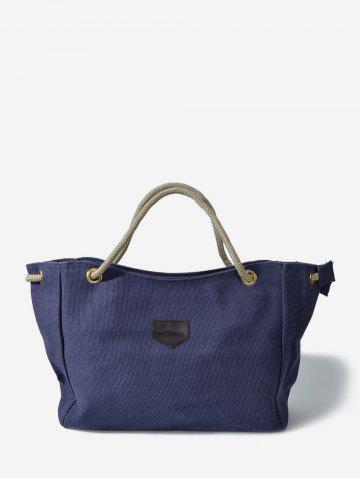 Casual | Canvas | Rope | Tote | Bag