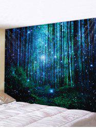 3D Print Forest Waterproof Wall Tapestry -
