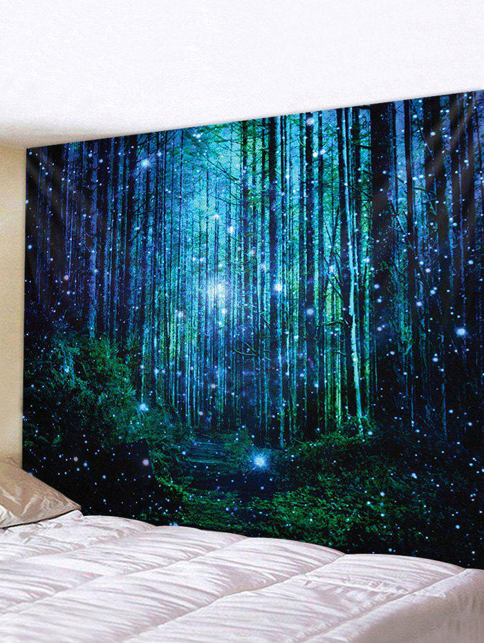 Cheap 3D Print Forest Waterproof Wall Tapestry