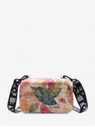 Pattern Square Crossbody Bag -