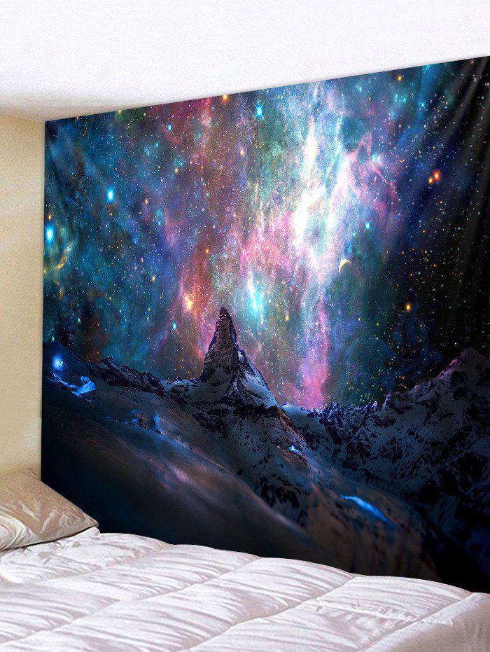 Outfits Galaxy Mountain Print Wall Tapestry