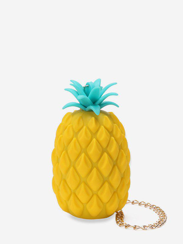 Buy Personality Pineapple Shape Chain Crossbody Bag