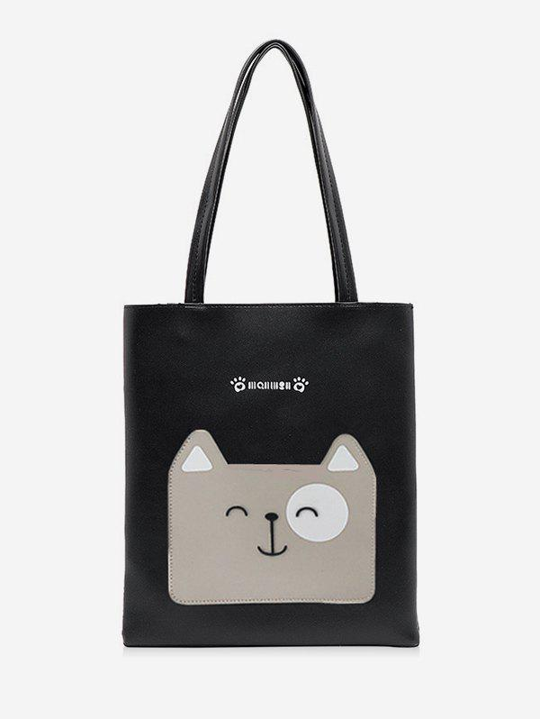 Best Cartoon Dog Print Tote Bag