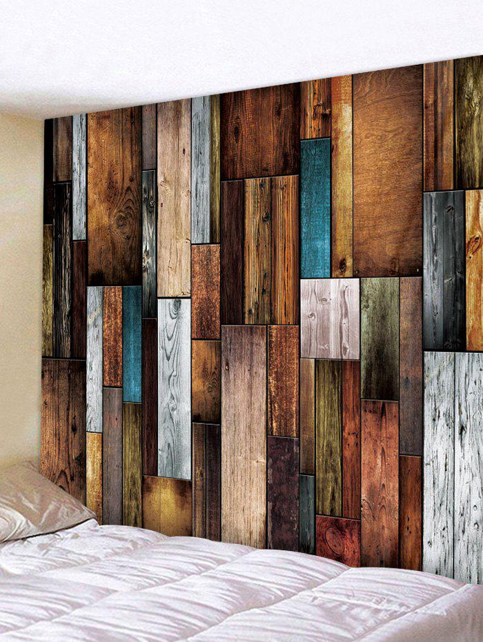 Cheap Wood Plank Printing Wall Tapestry