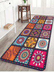 Bohemia Patchwork Pattern Water Absorption Area Rug -