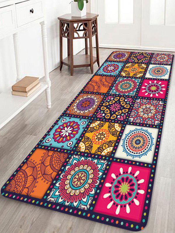 Bohemia Patchwork Pattern Water Absorption Area Rug фото