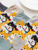5Pairs Cartoon Dogs Pattern Cotton Socks Set -