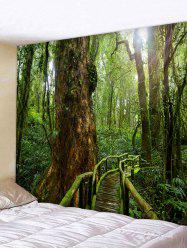 Forest Landscape Print Wall Decor Tapestry -