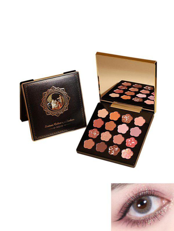 Outfits Floral Shaped Glitter Eyeshadow Kit