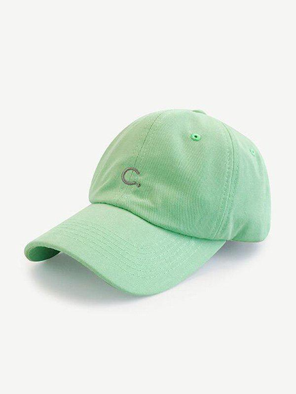 Sale Letter C Embroidery Sports Baseball Cap