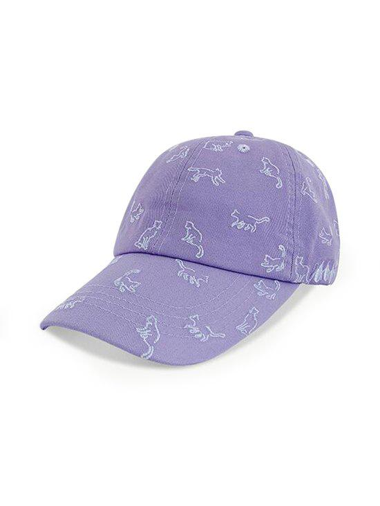 Best Cats Pattern Adjustable Embroidery Baseball Cap