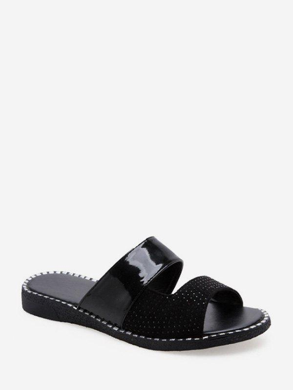 New Cut Out Casual Low Heel Slides