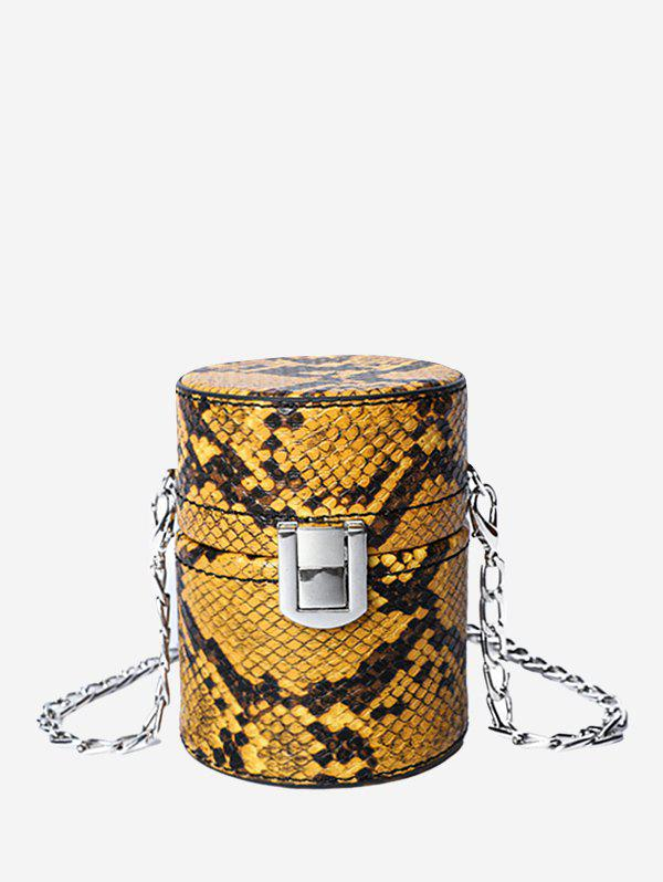 Outfits Chic Snakeskin Pattern Crossbody Bag