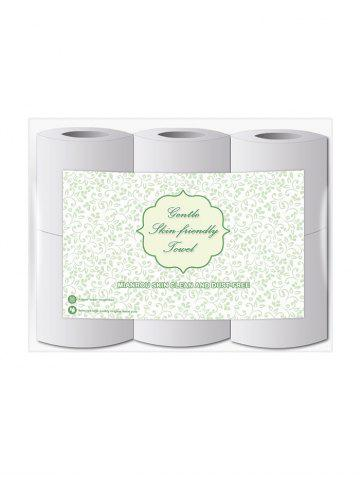 Skin Clean Thick Soft Toilet Paper - MULTI-A - 6PCS