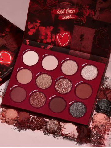 12 Colors Valentine s Day Eyeshadow Kit