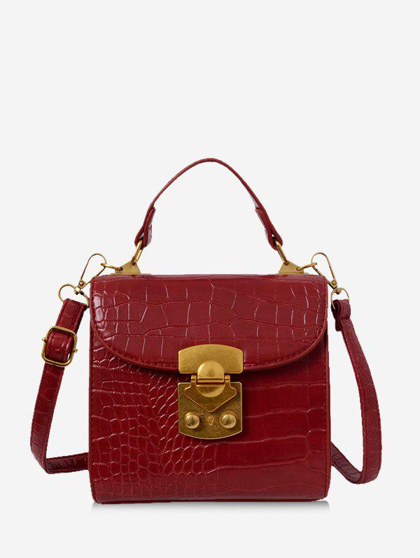 Best Animal Embossed Top Handle Mini Sling Bag
