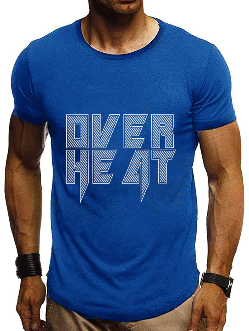 Sale Graphic Printing Short Sleeves T-shirt
