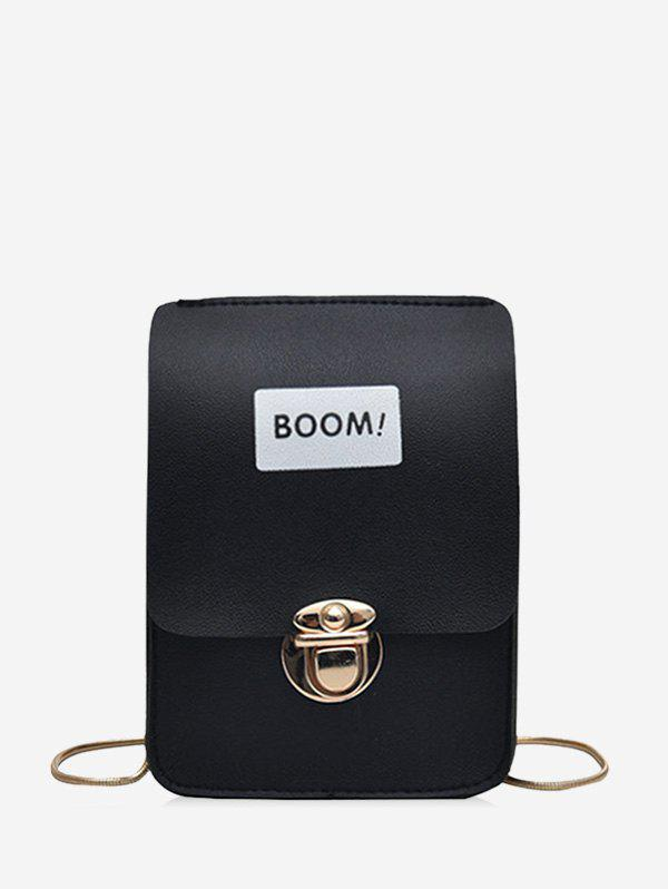 Outfit Letter Chain Small Crossbody Bag