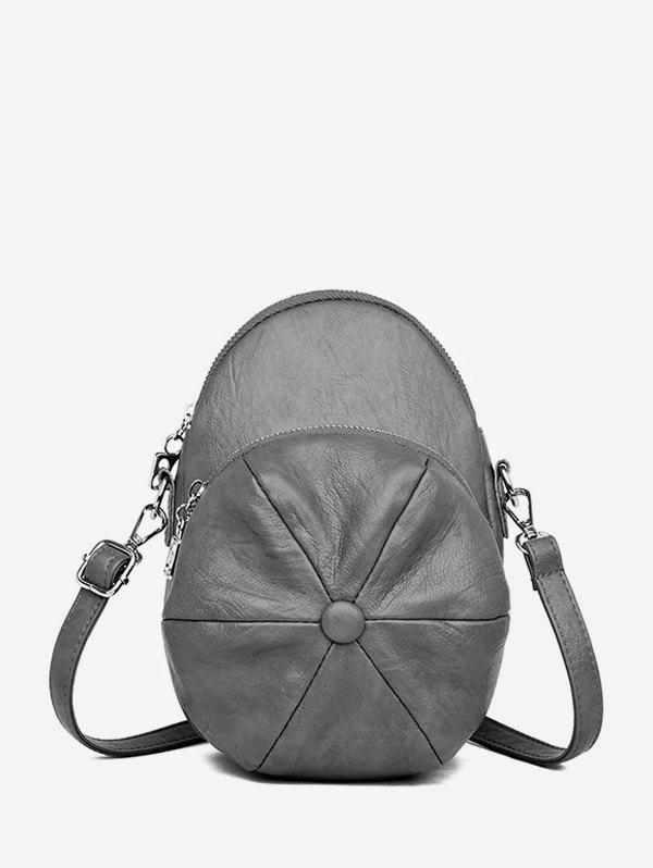 Affordable Baker Boy Cap Shape Crossbody Bag