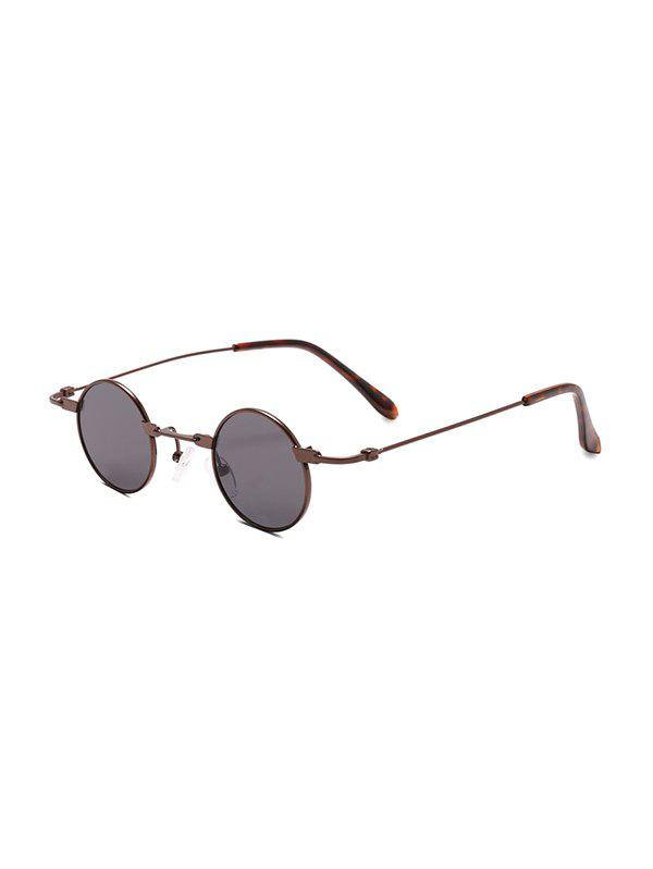 Outfits Retro Small Metal Round Sunglasses