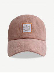 Embroidered Letters Pattern Baseball Cap -