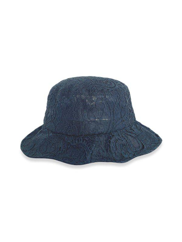 Chic Lace Solid Breathable Bucket Hat