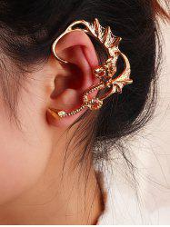 Punk Dragon Ear Cuff Earring -