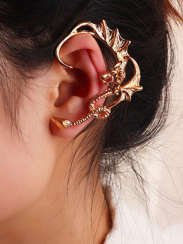 Unique Punk Dragon Ear Cuff Earring