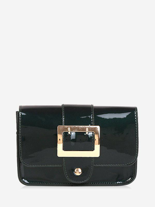 Chic Square Buckled Flap Chain Crossbody Bag