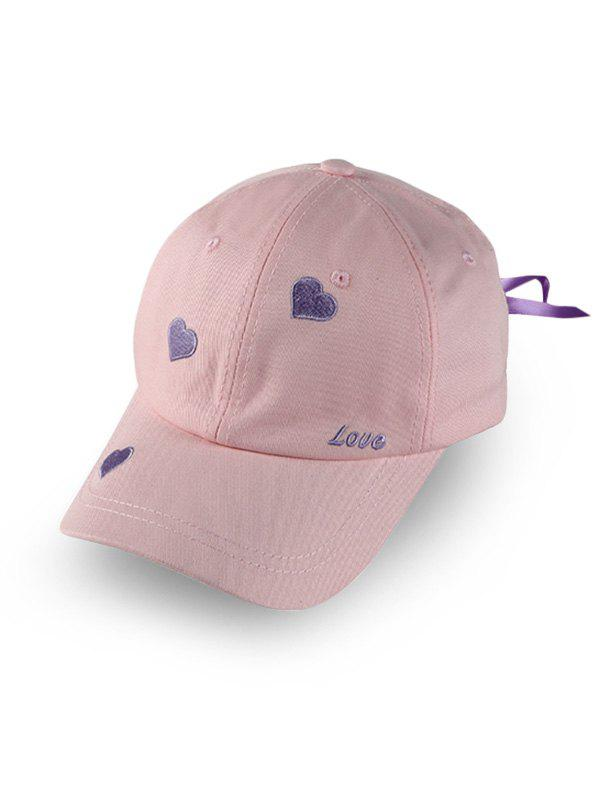 Online Heart Letter Embroidery Baseball Hat