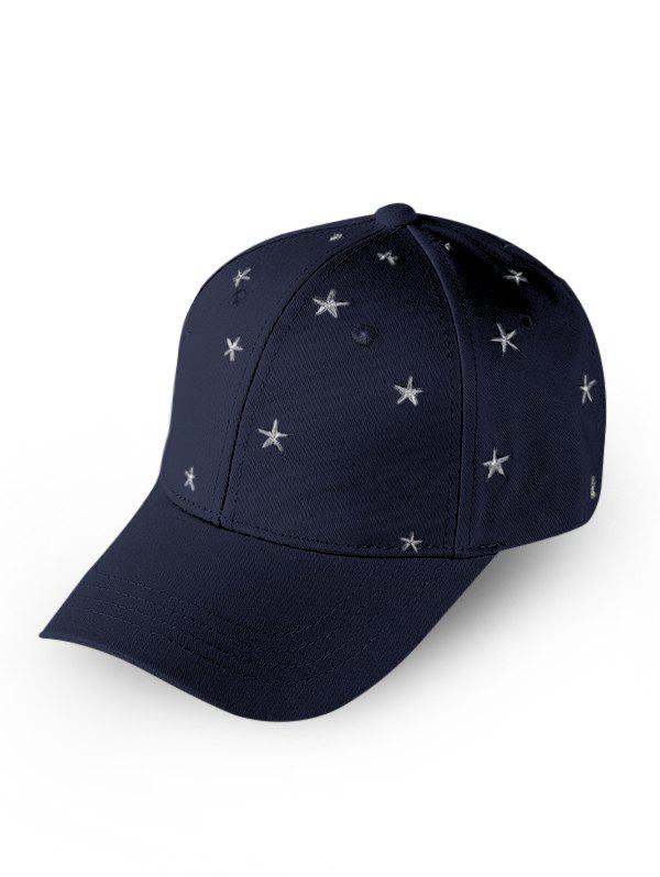 Chic Star Embroidered Sports Baseball Cap
