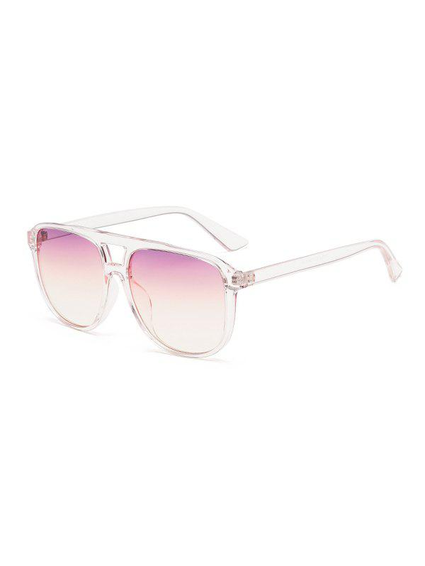 New Retro Oversized Driving Square Bar Sunglasses