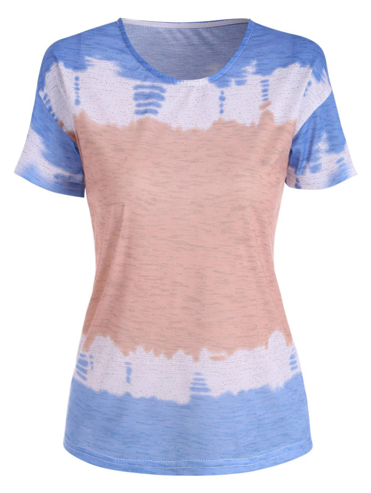 Shop Dip Dye Print Basic Tee