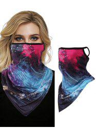 Colorful Print Windproof Scarf Mask -