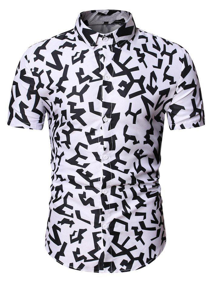 Fashion Geometric Graphic Pattern Shirt
