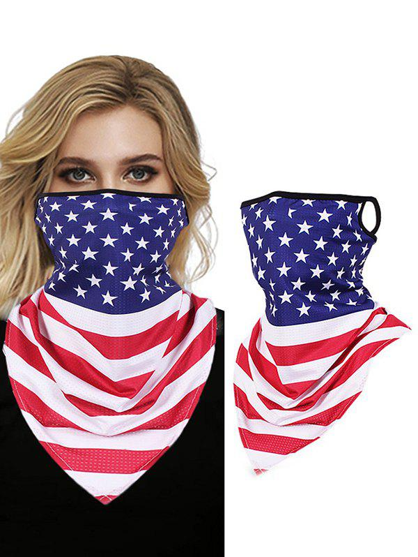 Discount Flag Print Windproof Outdoor Sun Protection Mask Scarf