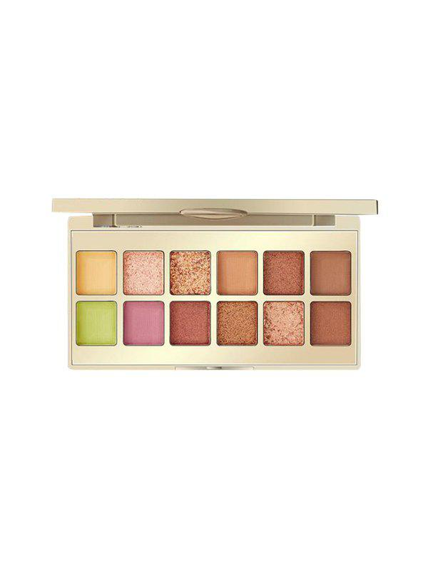 Shops 12 Color Chinese Style Foggy Sparkling Eyeshadow Palette