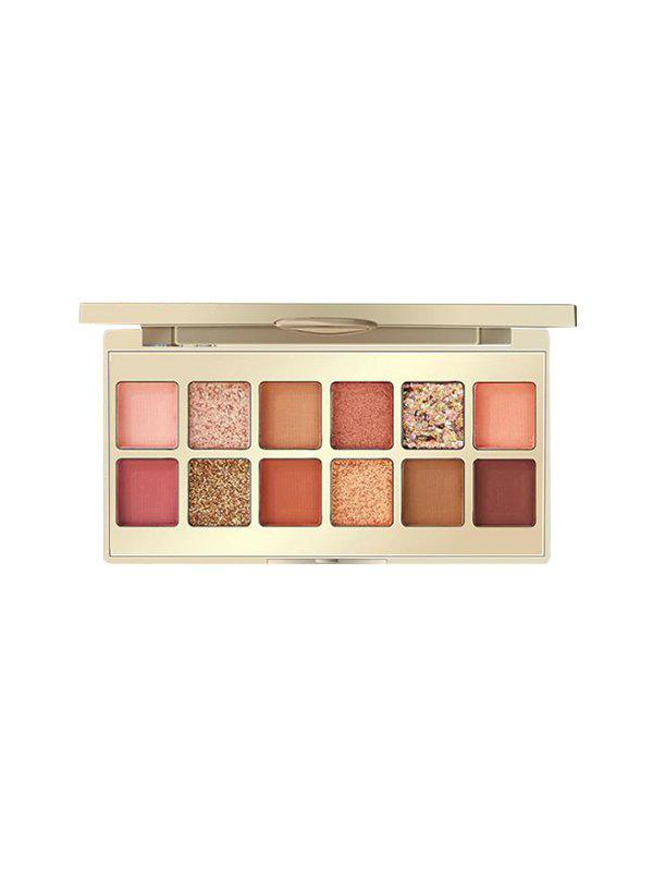 Fashion 12 Color Chinese Style Foggy Sparkling Eyeshadow Palette