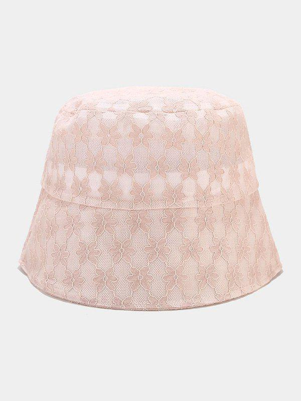 Discount Lace Flower Embellished Sun Hat
