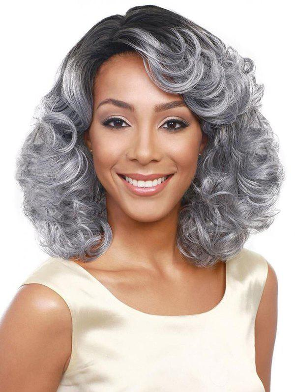 Hot Heat Resistant Synthetic Short Curly Hair Wig
