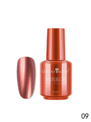 Magical Mirror Effect Metallic Nail Polish - TANGERINE