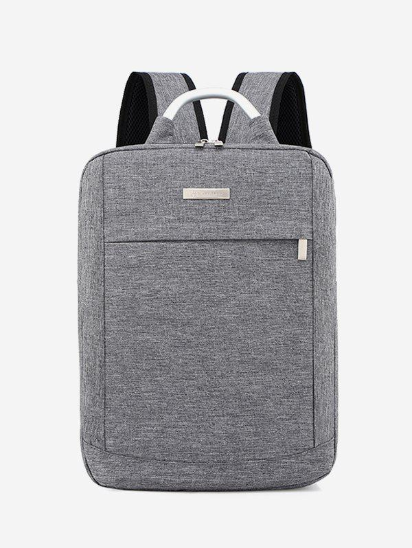 Online Solid Color Large Capacity Laptop Backpack