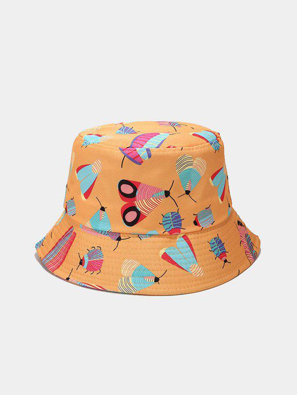 Cartoon Insect Print Cute Bucket Hat
