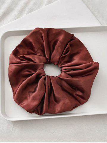 Satin Elastic Solid Fabric Scrunchy