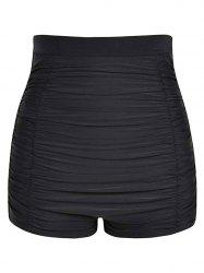 Ruched High Rise Swim Bottom -