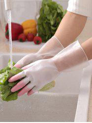 Household Cleaning Waterproof Kitchen Gloves -