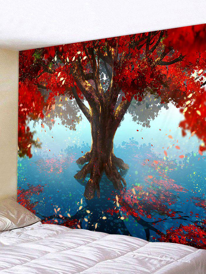 Unique Tree Leaves Pattern Hanging Wall Tapestry