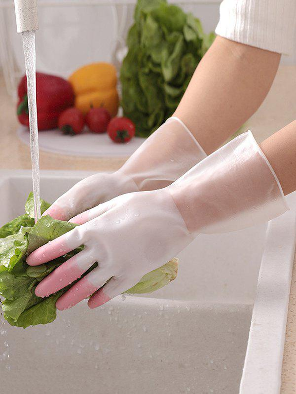 Shop Household Cleaning Waterproof Kitchen Gloves