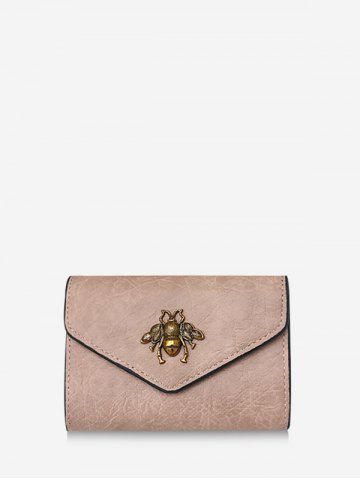 Envelope | Leather | Clutch | Wallet | Honey | Mini | Bee