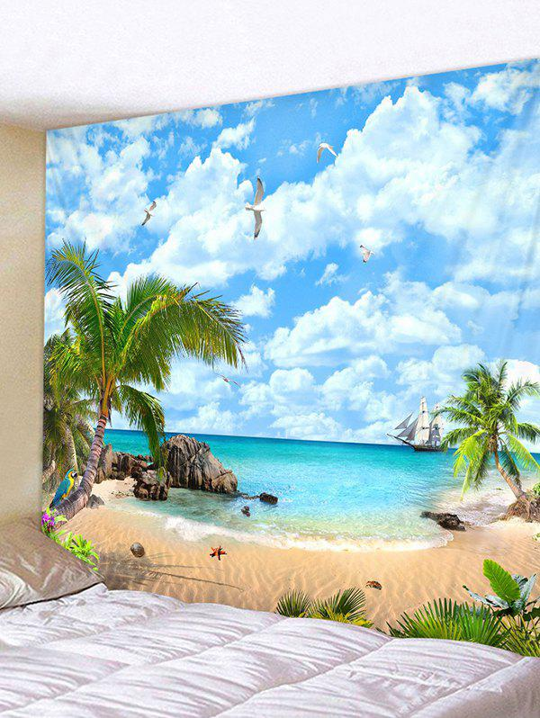 Outfit Beachside Landscape Print Wall Decor Tapestry